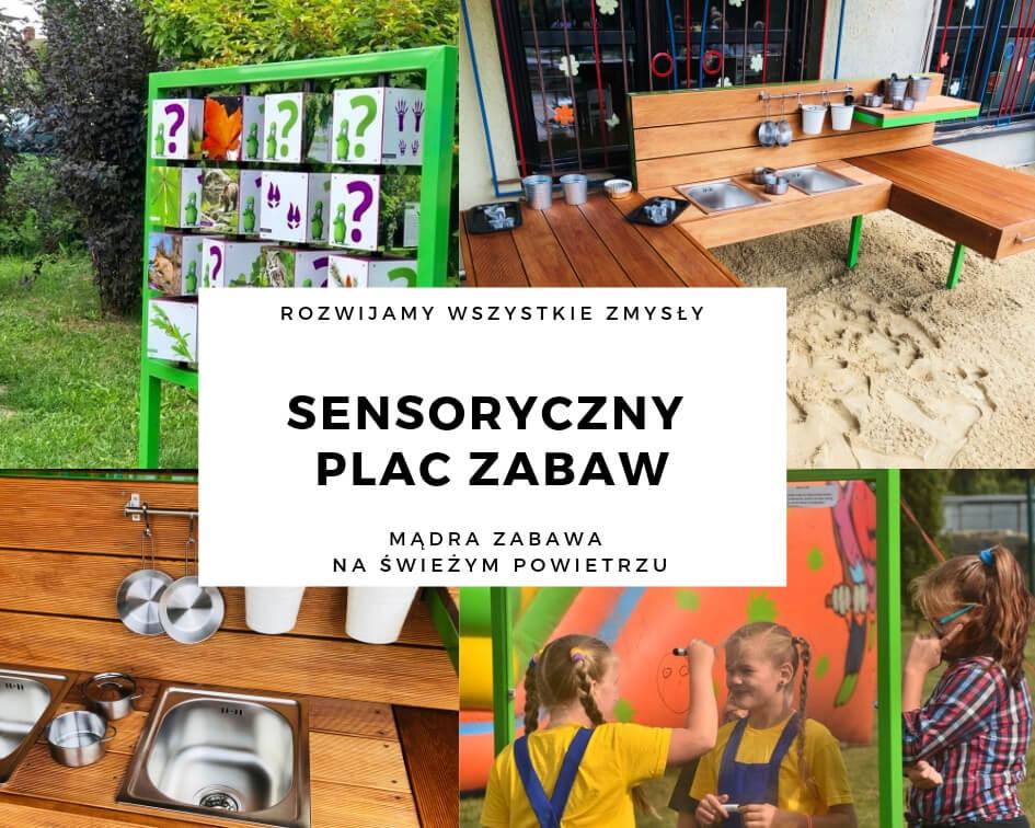 sensoryczny plac zabaw producent