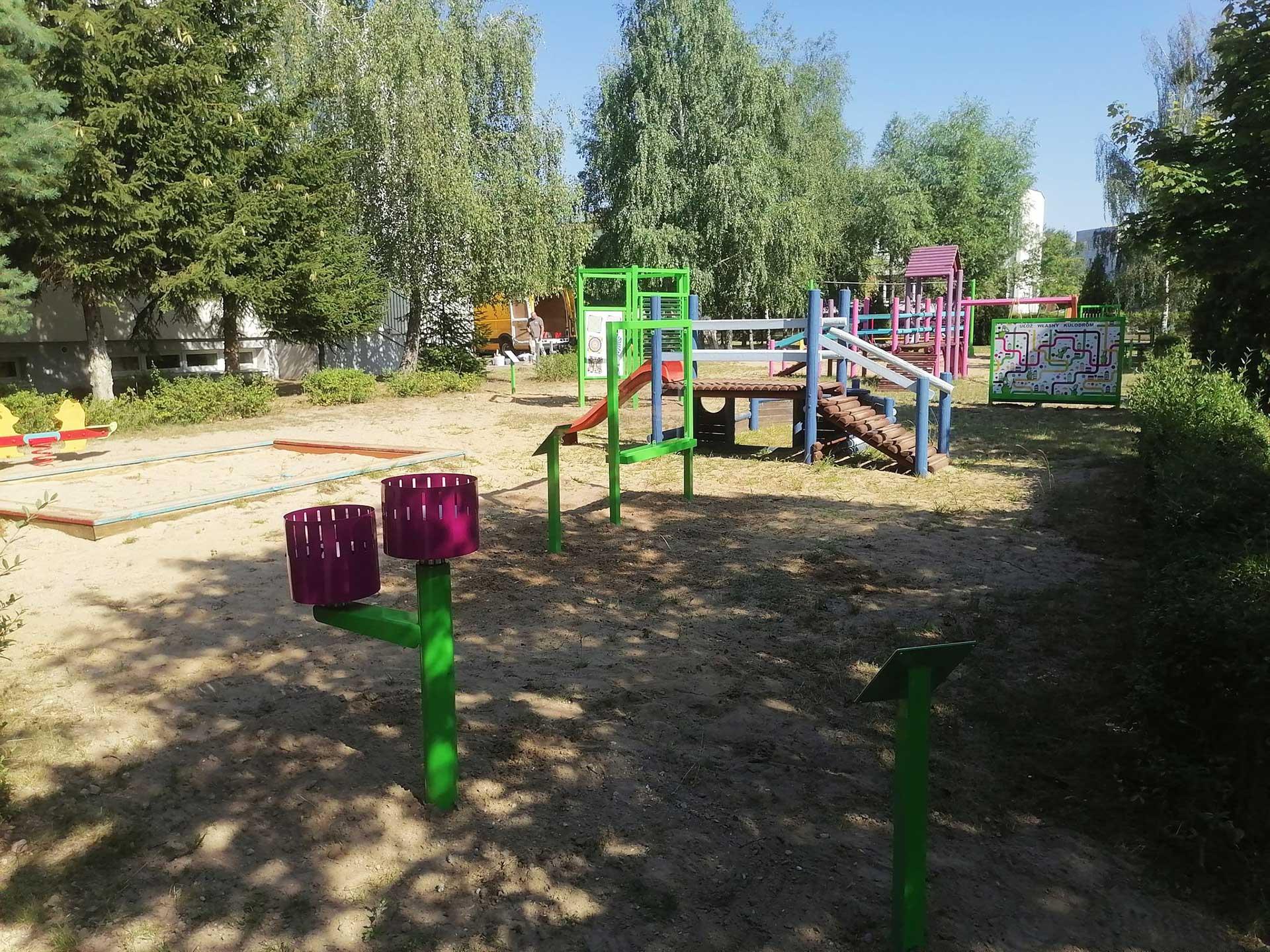 kreatywny plac zabaw w przedszkolu